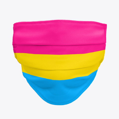 Pansexual Flag - Face Mask