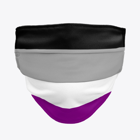 Asexual Flag - Face Mask