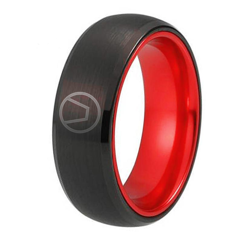 Black & Red Swinger Ring