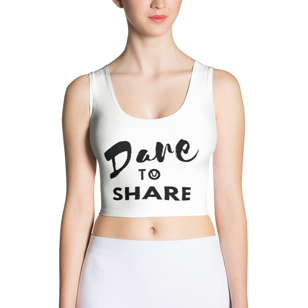 Swinger Slogan Crop Top